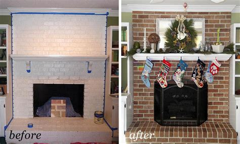 can you paint the inside of a gas fireplace painting brick fireplace from white to beautiful