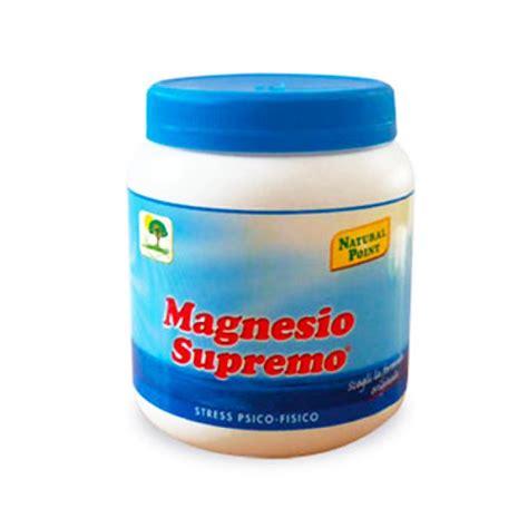 magnesia supremo magnesio supremo 174 benefici utilizzi prezzi segreti