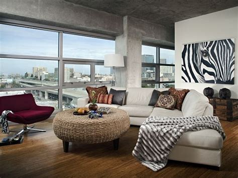 industrial loft feel  home
