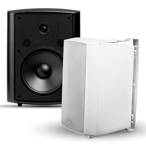 osd audio ap840 outdoor patio speakers pair
