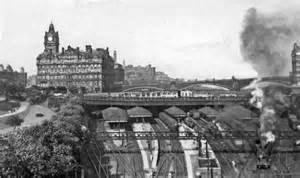 edinburgh waverley station  classic  ben