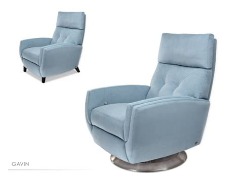 designer leather recliner chairs furniture gavin blue modern recliner chairs design