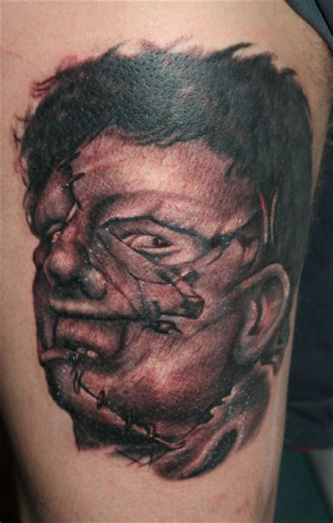 leatherface tattoo paul naylor leatherface