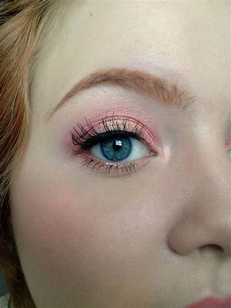 maybelline color tattoo rose gold pretty pink look using mac melon vanilla pigments