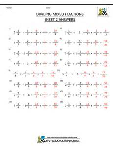 dividing mixed numbers worksheets tecnologialinstante