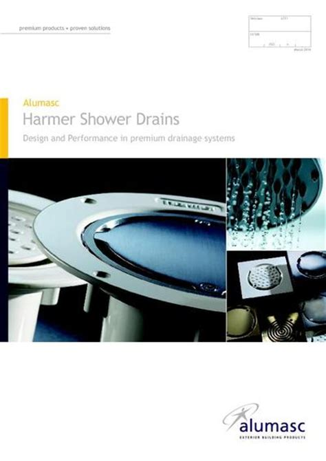 Alumasc Interior Building Products Ltd by Harmer Linearis Channel Drains For Showers And Wetrooms