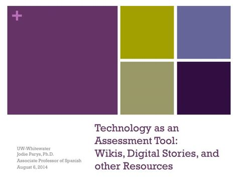 test technology overview ppt download ppt technology as an assessment tool wikis digital