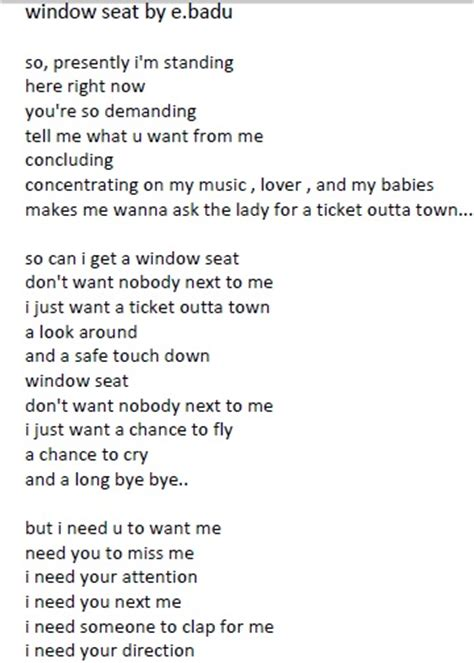 erykah badu window seat artwork x lyrics ddotomen - Window Seat Erykah Badu Lyrics