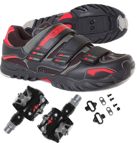 mountain bike shoes and pedals mtb mountain spin cycling bike shoe shimano spd with