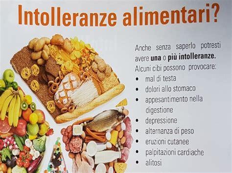 test per le intolleranze alimentari test intolleranze alimentari