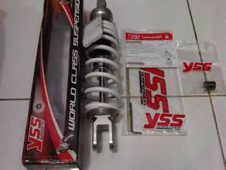 Shock Yss Putih Jual Shockbreaker Yss Advie Motor Racing Shop