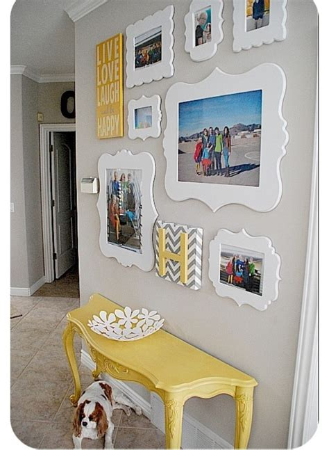 Decorating Ideas For Picture Frames Picture Frame Decor Ideas