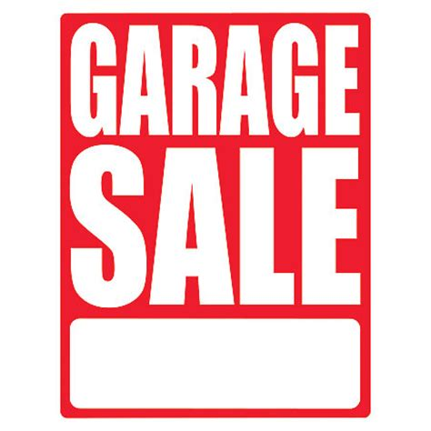 cosco sign vinyl decals garage sale 8 12 x 11 pack of 3