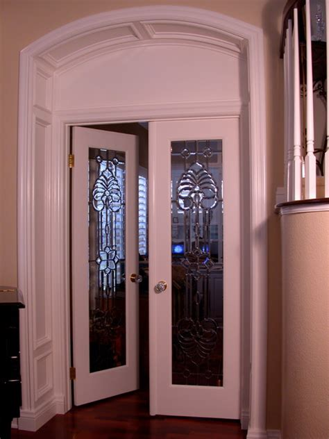 home office doors with glass leaded glass office doors traditional home office