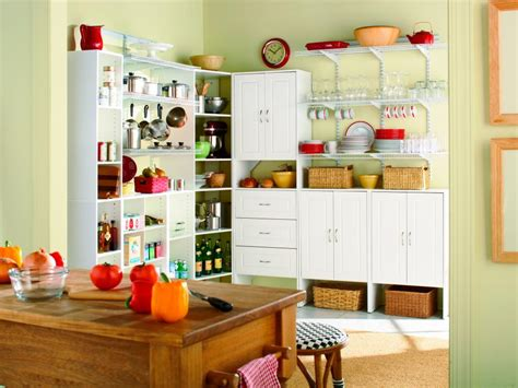 storage ideas for kitchens pictures of kitchen pantry options and ideas for efficient