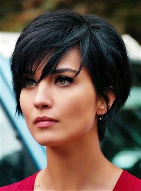 short hairstyle pics noncelebrity 17 best images about short wigs on pinterest 100 human