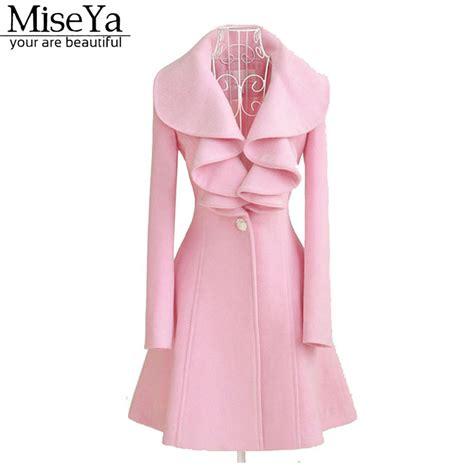 light pink wool coat pink pea coats han coats