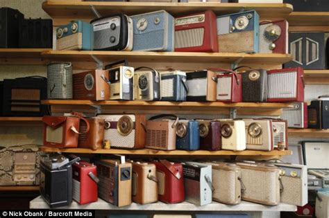 collector house radio ga ga collector fills his house with 1 200 radio sets spanning more than 100 years