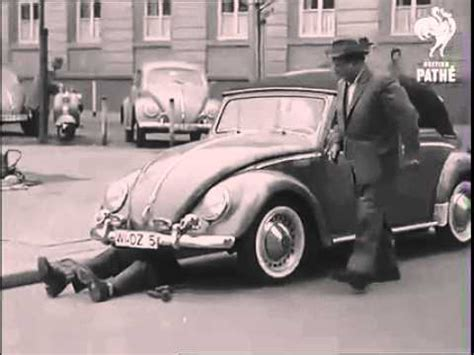 volkswagen beetle 1940 vw beetle how to beat a parking ticket circa 1940 s youtube
