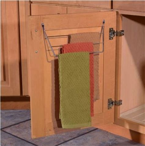 sink towel bar rack kitchen cabinet customization