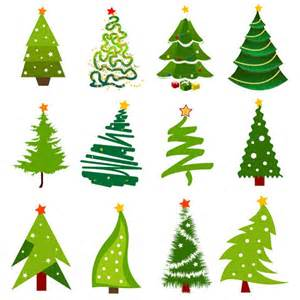 christmas tree material vector material my free
