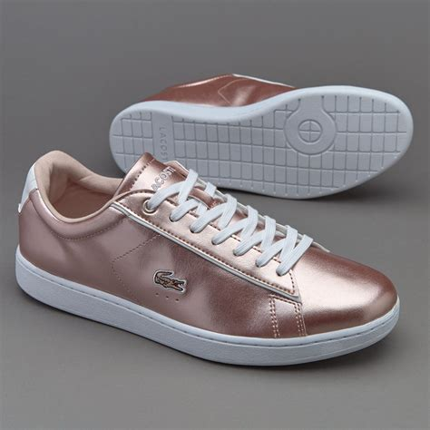 womens shoes lacoste carnaby evo light pink shoes
