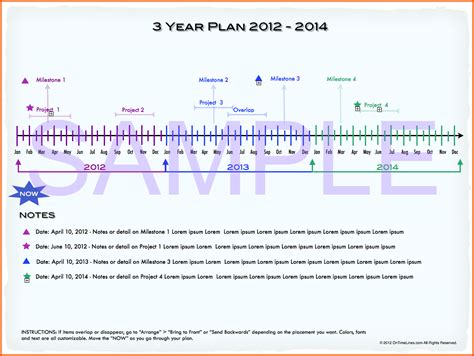 Timeline Template Word Mac For Iwork Pages Or Microsoft Office Perfect Representation Timeline Template Mac