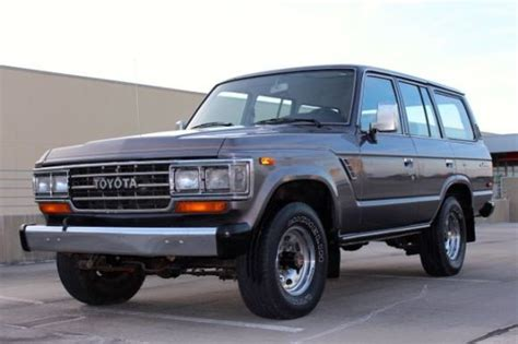 1988 Toyota Land Cruiser For Sale For Sale 109k Mile 1988 Toyota Land Cruiser Everything Fj60