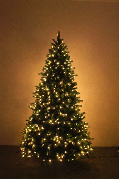sure lit christmas tree lights the ultra devonshire pre lit fir tree with warm white leds 4ft to 12ft