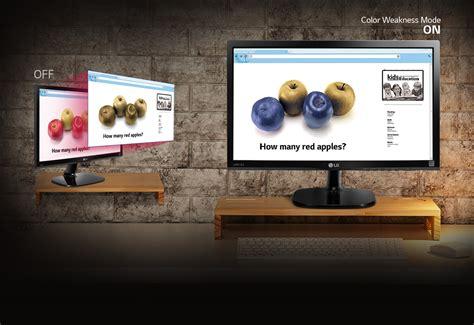 Monitor Led Lg 19 Inch 20mp48 lg ips monitor 20mp48 sleek cut design ips led monitor