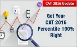 Mba Universe Cat 2016 Analysis by Get Your Cat 2016 Percentile 100 Right Check Analysis By