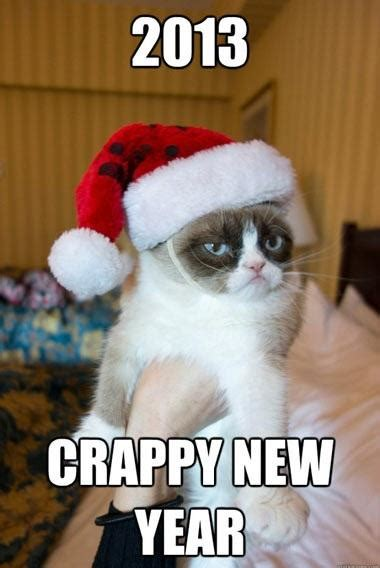 Grumpy Cat New Years Meme - grumpy cat s new year wishes grumpy cat know your meme