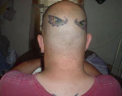 bald head tattoo tattoos photo gallery