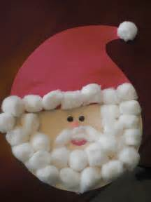 papr plate santa craft preschool crafts for kids