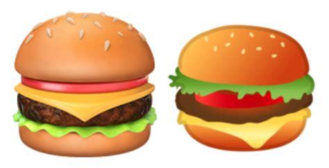 emoji burger food emoji png food