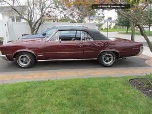 Pontiac Gto 1965 Convertible 1965 Pontiac Gto Convertible