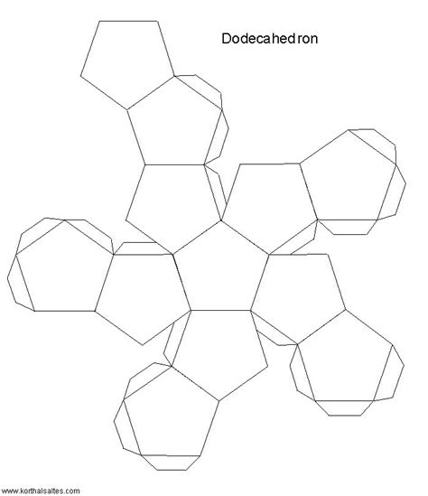 3d paper shape templates 17 best images about polyhedra lar on platonic