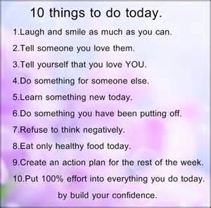 Things To Do In Today Daily Inspiration Transform Your With Tony T Robinson