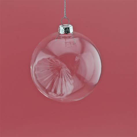 hanging clear glass ball for christmas ornaments buy 100