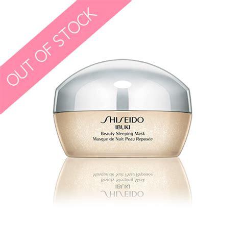 Masker Shiseido shiseido ibuki sleeping mask