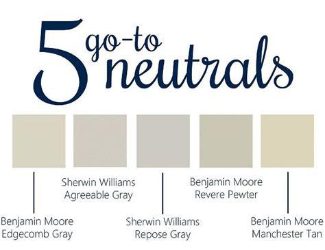 5 go to neutrals bm edgecomb gray sw agreeable gray sw