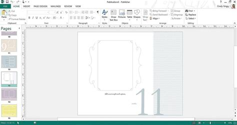 Microsoft Publisher Photo Album Template by Microsoft S Best Baby Templates And Printables