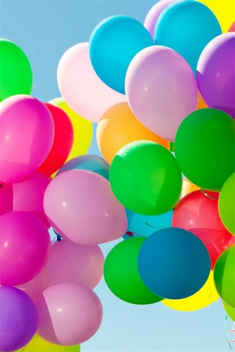colorful balloons wallpaper 640x960 colorful balloons in the sky iphone 4 wallpaper