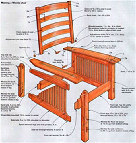 woodwork mission style furniture online pdf plans pdf morris chair plans pdf plans free