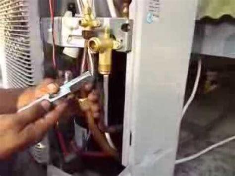 Kipas Freon teknisi ac memperbaiki air conditioner doovi