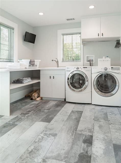 industrial laundry room industrial style home