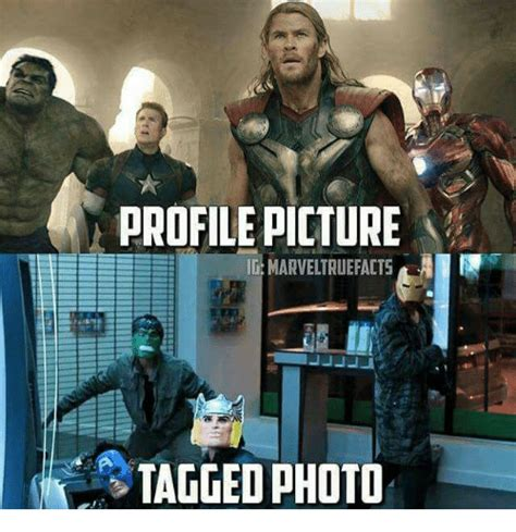 Profile Picture Memes - profile picture ig marveltruefacts tagged photo meme on