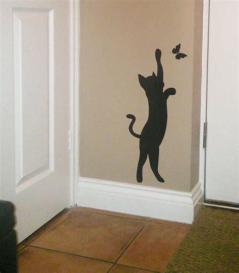 cat wall sticker original photo0136 jpg