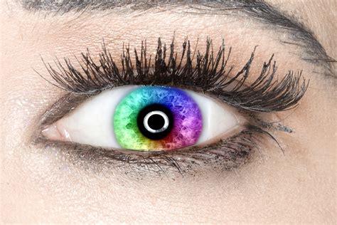 imagenes ojos de colores foto gratis ojo iris colores del arco iris imagen