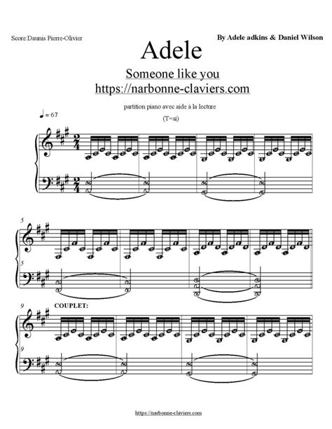 adele promise this notes mad world jasmine thompson piano partition sheet music